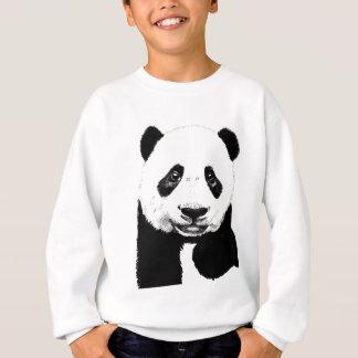 パンダのスケッチ スウェットシャツ