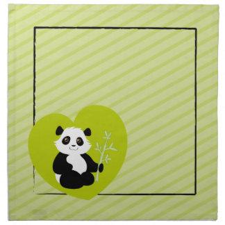 パンダのナプキン ナプキンクロス