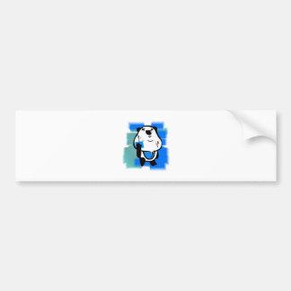 パンダのパンダ バンパーステッカー