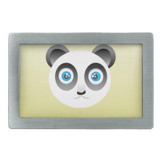 パンダのベルトの留め金 長方形ベルトバックル