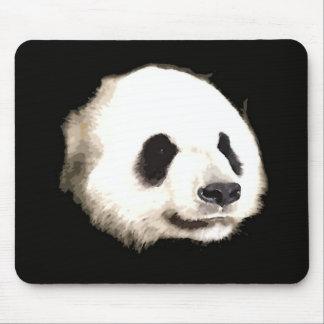 パンダのポップアート マウスパッド