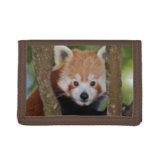 パンダのポートレートの財布