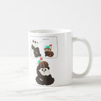 パンダのレッサーパンダ コーヒーマグカップ