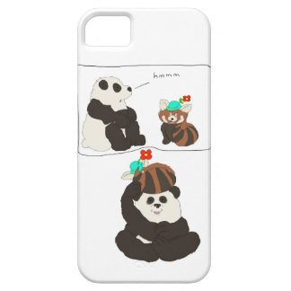 パンダのレッサーパンダ iPhone SE/5/5s ケース