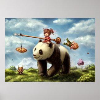 パンダの乗車 ポスター