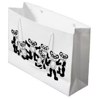 パンダの友人のギフトバッグ ラージペーパーバッグ
