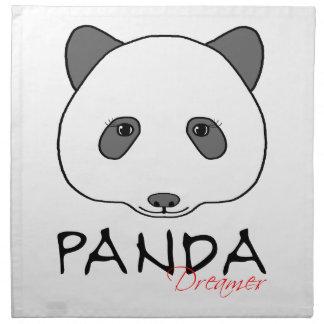 パンダの夢みる人 ナプキンクロス