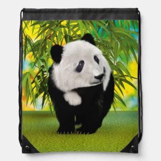 パンダの小熊 ナップサック