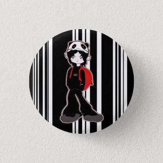 パンダの帽子ボタン 3.2CM 丸型バッジ