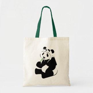 パンダの帽子 トートバッグ