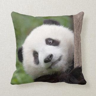 パンダの幼いこどもの絵画 クッション