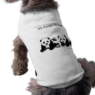 パンダの抱擁 ペット服