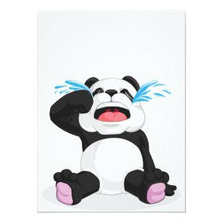 パンダの泣き叫び カード