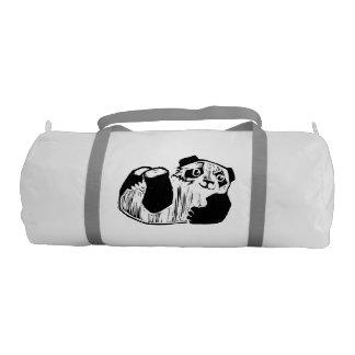 パンダの演劇のカスタムなDuffleの体育館のバッグ ジムバッグ
