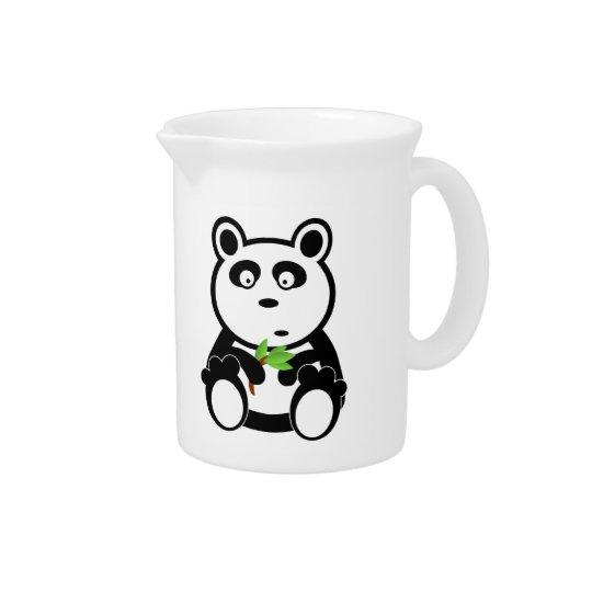 パンダの漫画 ピッチャー