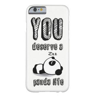 パンダの生命 BARELY THERE iPhone 6 ケース