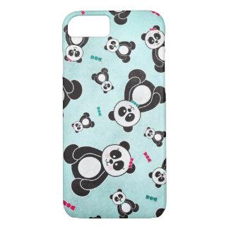 パンダの自由落下 iPhone 8/7ケース