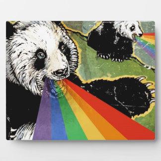 パンダの虹 フォトプラーク