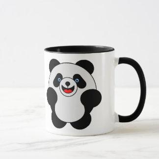 パンダの跳躍 マグカップ