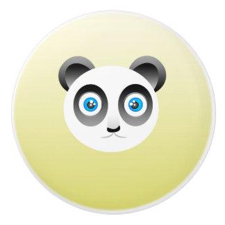 パンダの陶磁器のノブ セラミックノブ