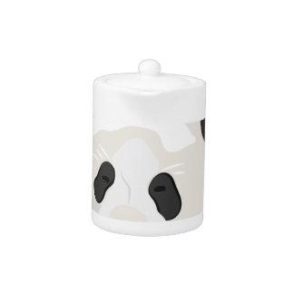 パンダの頭部