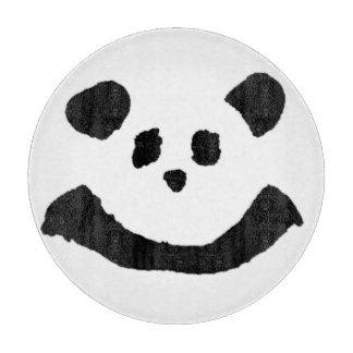 パンダの顔 カッティングボード