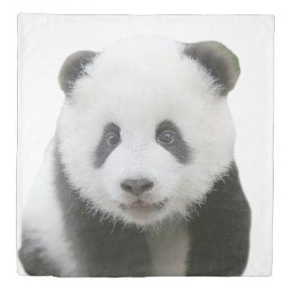 パンダの顔 掛け布団カバー