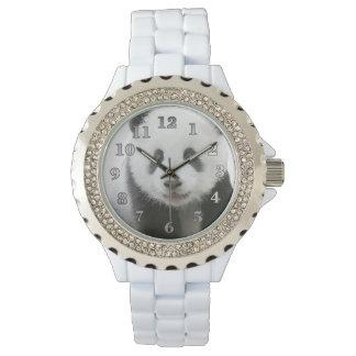 パンダの顔 腕時計