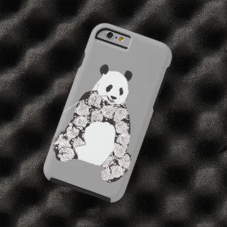 パンダの食べ物のタケの絵 iPhone 6 タフケース