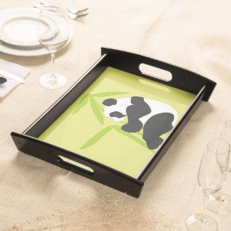 パンダの食べ物のタケ トレー