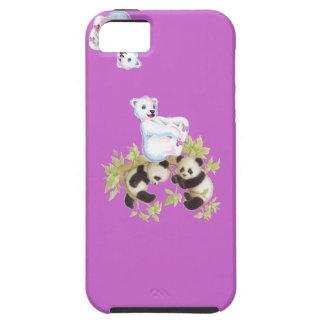 パンダのiphoneの場合 iPhone SE/5/5s ケース