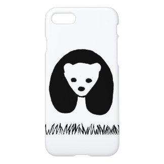 パンダのiphone 7の場合 iPhone 8/7 ケース