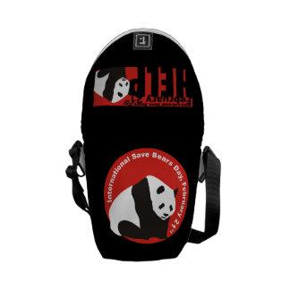 パンダのisbdを救って下さい メッセンジャーバッグ