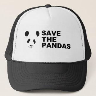 パンダを救って下さい キャップ