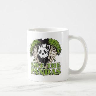 パンダを救って下さい コーヒーマグカップ