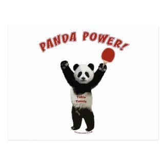パンダ力の卓球 ポストカード