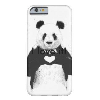 パンダ愛 BARELY THERE iPhone 6 ケース