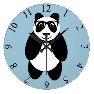 パンダ ラージ壁時計