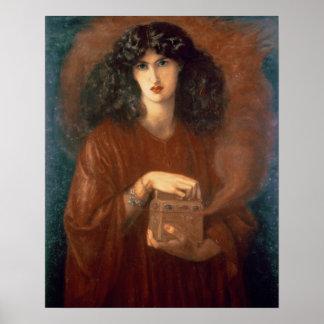 パンドラ1871年(キャンバスの油) ポスター