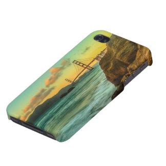 パン屋のビーチの日没 iPhone 4/4Sケース