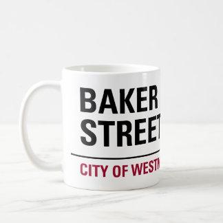 パン屋の道路標識 コーヒーマグカップ