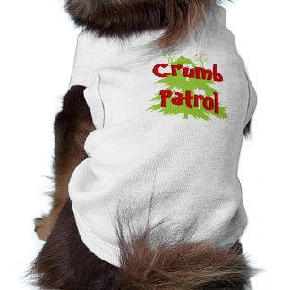 パン粉のパトロール犬のTシャツ ペット服