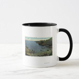 パーキンズの入江の眺め、水泳場面 マグカップ