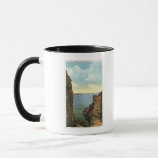 パーキンズの入江の裂け目の眺め マグカップ