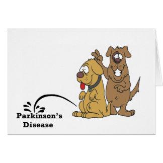 パーキンソン病の小便 カード