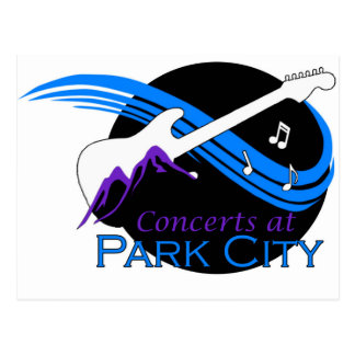 パークシティのコンサート ポストカード