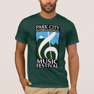 パークシティの映画音楽のフェスティバルのロゴのワイシャツ Tシャツ