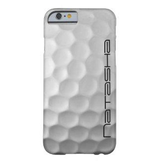 パーソナライズされたなゴルフ・ボールは質パターンに窪みを作ります BARELY THERE iPhone 6 ケース