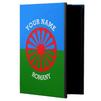 パーソナライズされたな公式のRomanyのジプシーの旅行者の旗 iPad Airケース