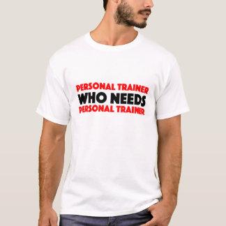 パーソナルトレーナーのTシャツ Tシャツ